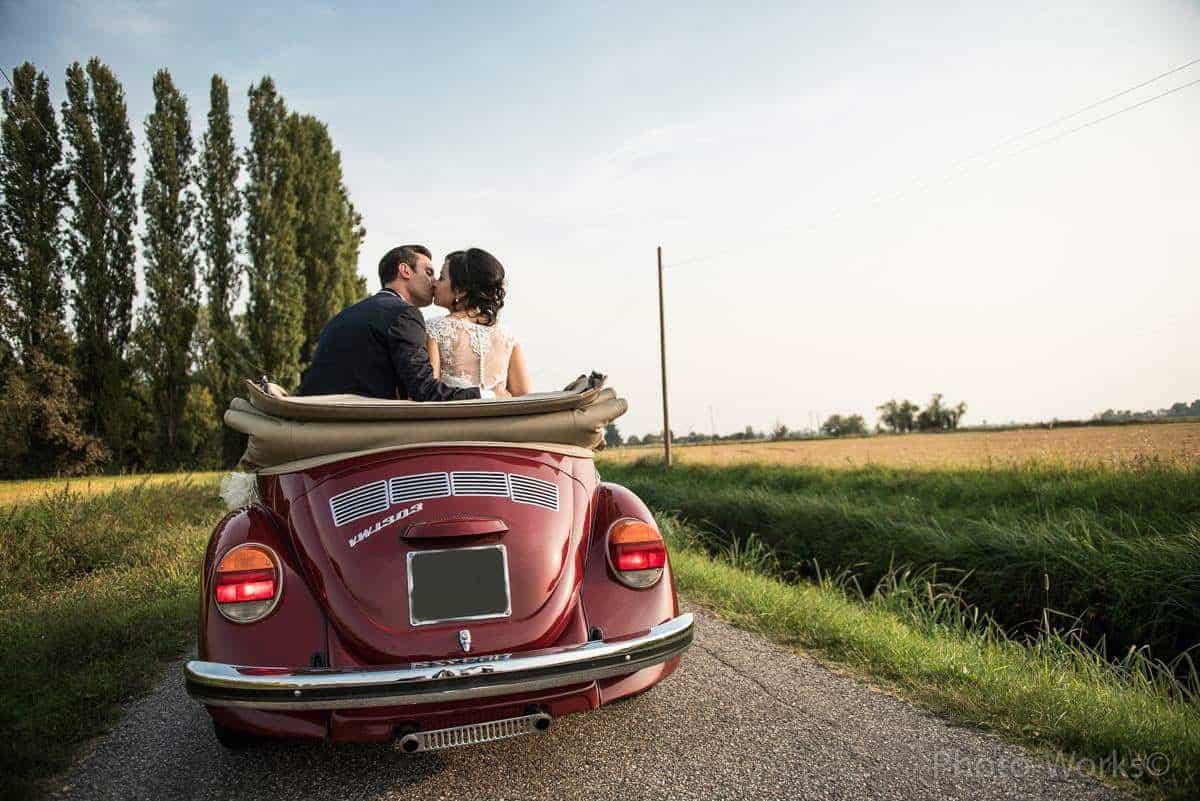 Noleggio auto per matrimonio Milano