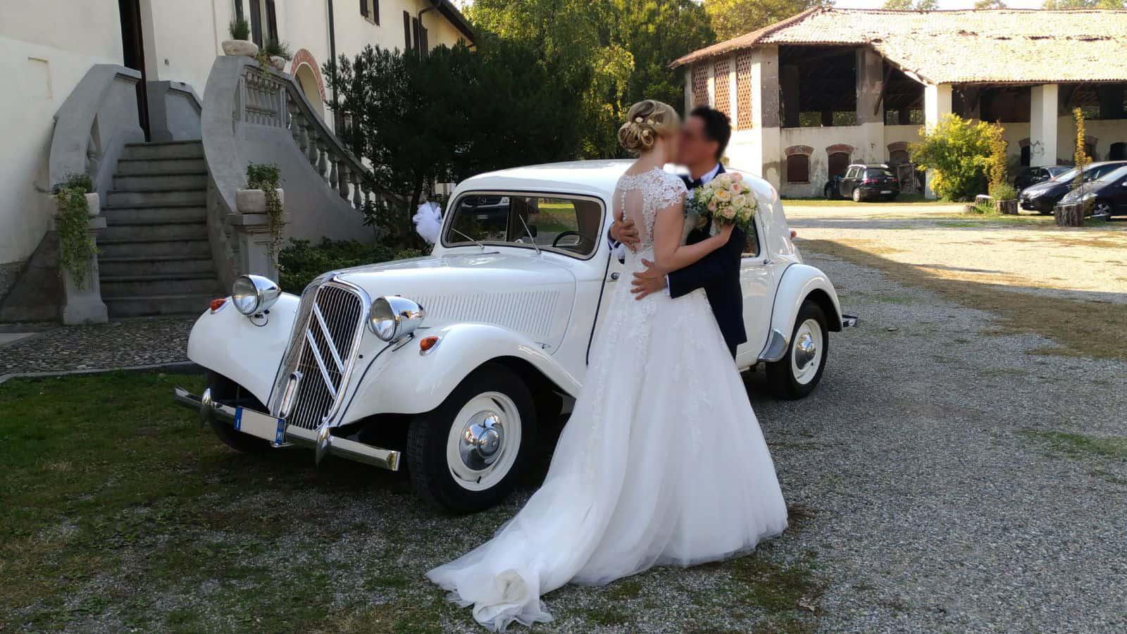 Noleggio auto per cerimonie Milano