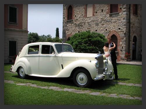 Noleggio Bentley MK 6 Milano