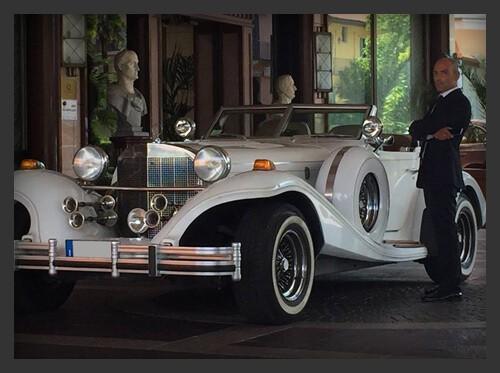 Noleggio auto per pubblicità Milano