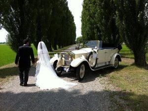 Noleggio Rolls Royce Torpedo Milano